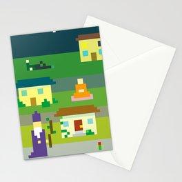 MAGIC SUBURBS Stationery Cards