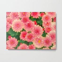 Flowers x Summer Metal Print