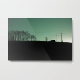 I am going to see mountain with you. Metal Print