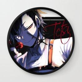 Kuroo Tetsurou Haikyuu Wall Clock