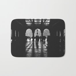 """Contrast"" | Bethesda Terrace, Central Park NYC Bath Mat"