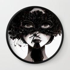 La veuve affamee Wall Clock