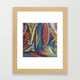Radix Framed Art Print