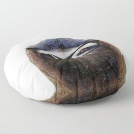 Hipster Sloth Floor Pillow