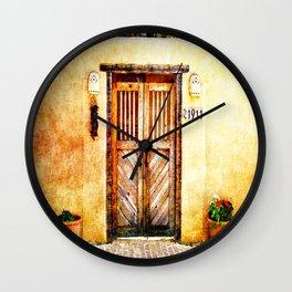 Romance of New Mexico Wall Clock