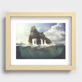 TURTLE ISLAND Recessed Framed Print