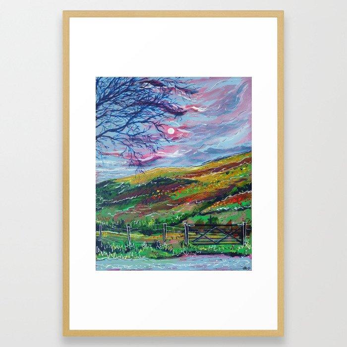 Brecon Beacons Framed Art Print