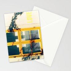 Love Window Stationery Cards