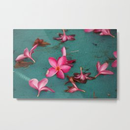 Tropical Flower Metal Print