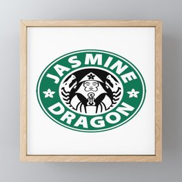 The Jasmine Dragon Framed Mini Art Print