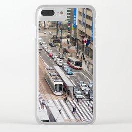 Hiroshima, Japan Clear iPhone Case