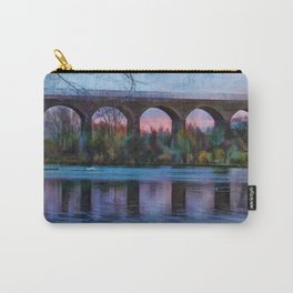 Viaduct at Reddish Vale Country Park Carry-All Pouch