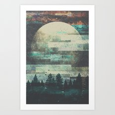 Children of the moon Art Print