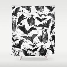 BATS II Shower Curtain