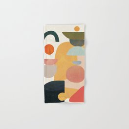 Modern Abstract Art 70 Hand & Bath Towel