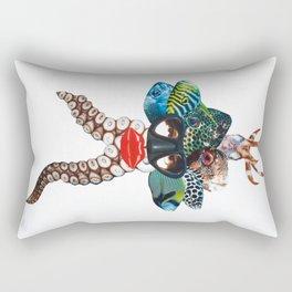 Scuba dream Rectangular Pillow