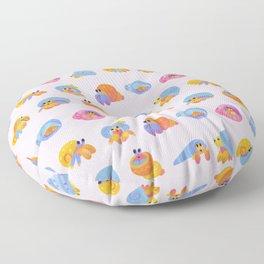 Hermit Crab - pink Floor Pillow