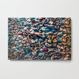 Sea pebbles Metal Print