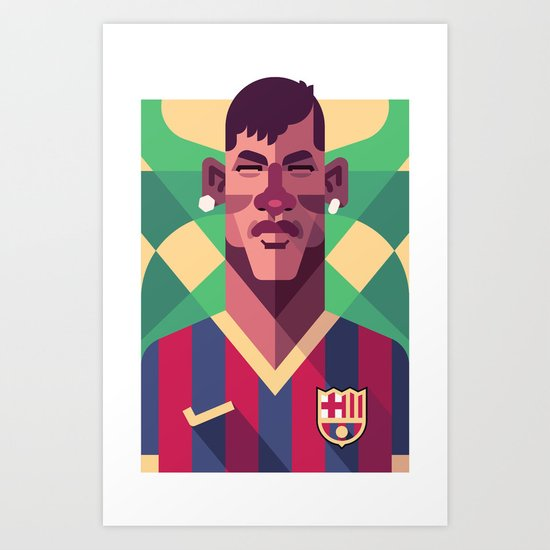 N11 | Blaugrana Art Print