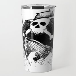 Pirate Ship Travel Mug