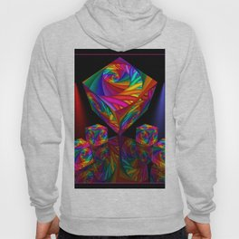 framed fractal cubes -1- Hoody