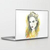 zodiac Laptop & iPad Skins featuring Zodiac - Leo by Simona Borstnar