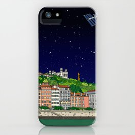 Lyon Full of Stars iPhone Case