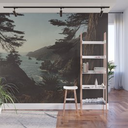 Road Trip USA - big sur Wall Mural