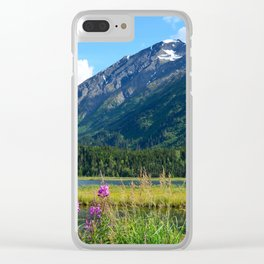 July at Tern Lake - II Clear iPhone Case