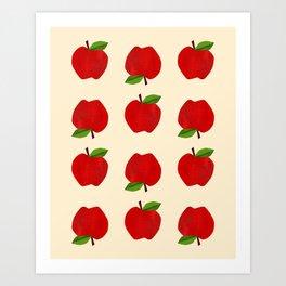 Apples For Days Art Print