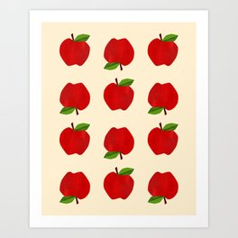 Apples For Days Art Print