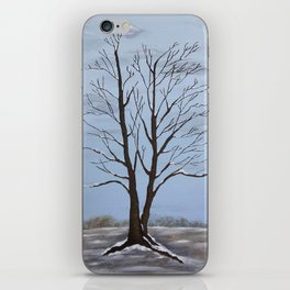 Four Seasons of a Tree:  Winter iPhone Skin