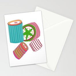 Christmas Sweeties Hard Multi-colored Candies Stationery Cards