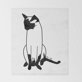 CAT Throw Blanket