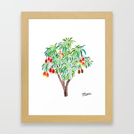 Mango Tree Framed Art Print