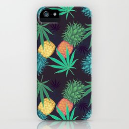 Cannabis Collection: Pineapple Sage iPhone Case