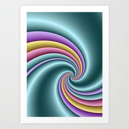 fluid -82- Art Print