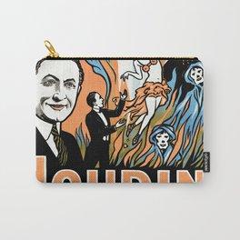 Harry Houdini, do spirits return? Carry-All Pouch