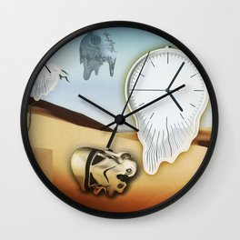 death of a star Wall Clock