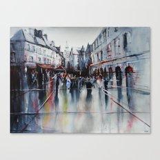 French village Canvas Print