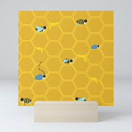 What the Bees Do in the Fall Mini Art Print