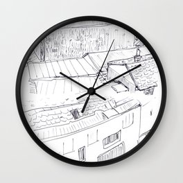 Sketches from Paris 04 Wall Clock