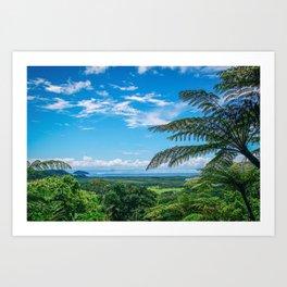 Cairns, Australia Overlook Art Print
