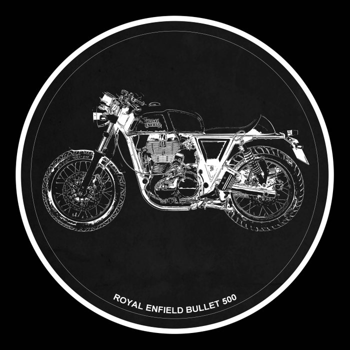 Royal Enfield Bullet 500 - For Some There's Therapy, For The Rest Of Us There's Motorcycles Comforters