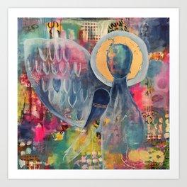 Sacred Strength Art Print