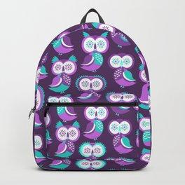 Owls, Christmas owls Backpack