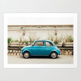 Vintage Euro Car Art Print