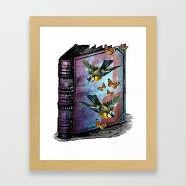 A BIRDWATCHERS GUIDEBOOK Framed Art Print