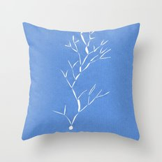 Nowhere tree Throw Pillow