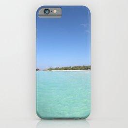 Maldivian coast (island beach) iPhone Case
